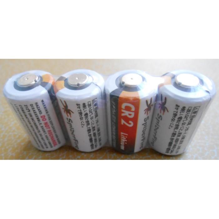 High capacity li-mno2 3v cr2 850mAh + PTC CR15H270 lithium battery