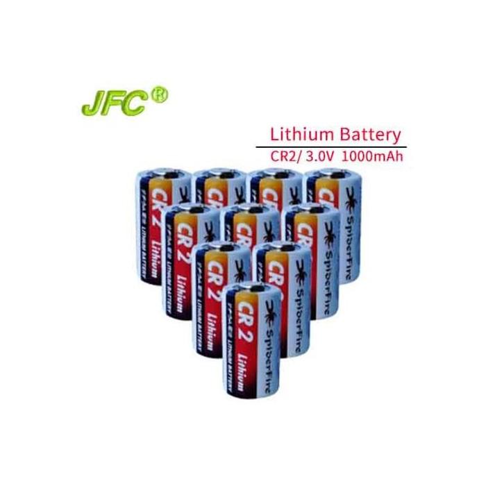 High capacity li-mno2 3v cr2 800mAh + PTC CR15H270 lithium battery