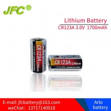 SpiderFIre CR123A  3V.0 1400mAH Lithium Battery-4PCS