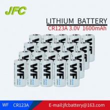WF CR123A 1700mAh 3V Lithium Battery-light Blue