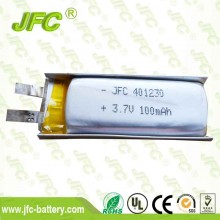 100mAh 3.7V Internal Battery JFC401230 Li-polymer battery Li-Po ion for Bluetooth mp3