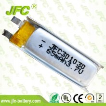Laser pen battery 301030 3.7V 60mAh/Bluetooth battery