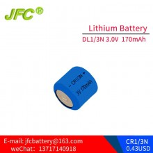 DL1/3N battery ,Bulk CR-1/3N 3V Lithium Battery (Powercap) CR1/3N
