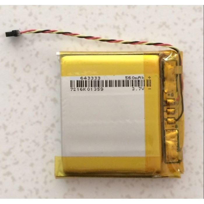643333 Polymer battery for Beats Studio 2.0