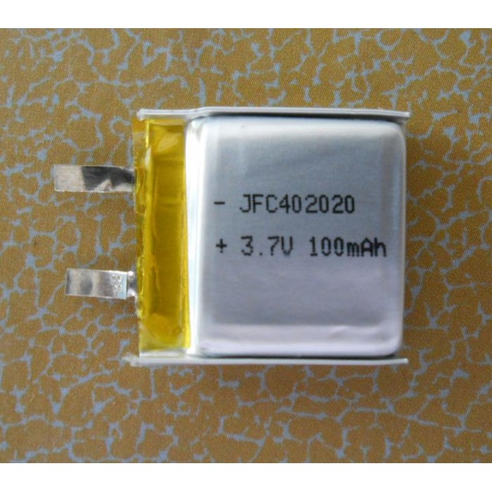 polymer li ion battery JFC 402023 125mAh ,lithium polymer cell