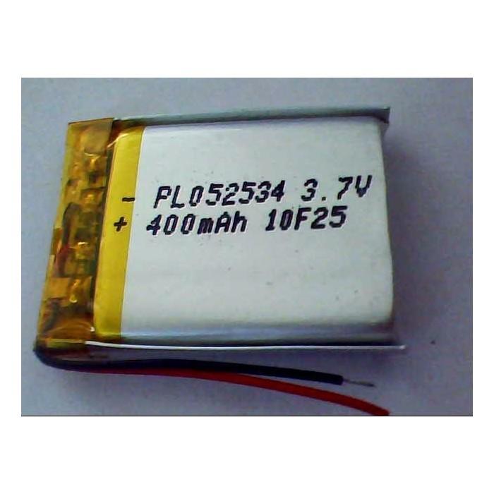 502530 3.7V 300mah Polymer Lithium Li-Po Rechargeable Battery