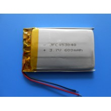 JFC 453048 3.7V 600mAh, lithium polymer with wire