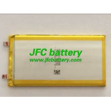 Rechargeable lipo battery 3.7v 3050mah lithium polymer battery