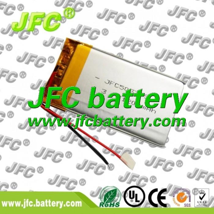 503759 Li-Ion Lithium Polymer Battery 053759 3.7V 1100mah Li-Polymer Battery