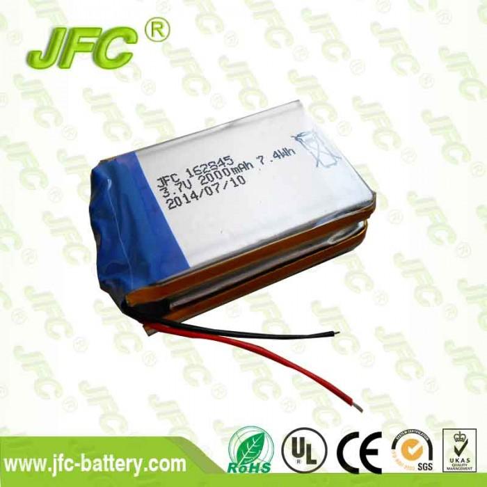 Bicycle headlight battery JFC162845 3.7V 2000mAh