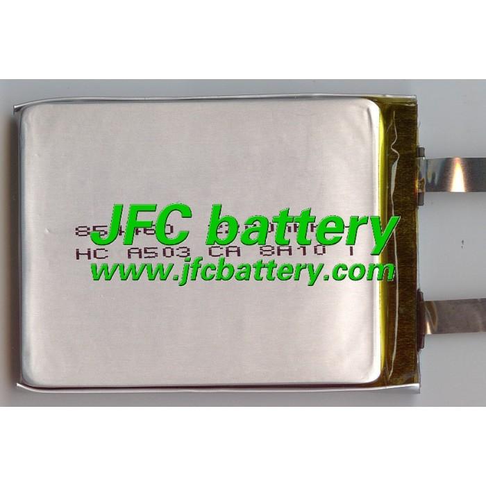 Polymer battery  854460 3.7V 2200 mah  smart home MP3 speakers Li-ion battery for dvr,GPS,mp3,mp4,cell phone,speaker