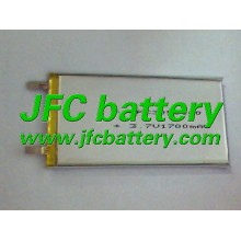 jfc 3050100 3.7V 1700mAh Ultra Thin LiPo Battery