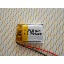 Images of JFC501624 battery 3.7V 140mAh,Lithium Polymer Battery For Walkman Microphone