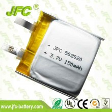 jfc 502020 3.7v 150mah,302020 402020 602020 702020 802020 902020Polymer battery
