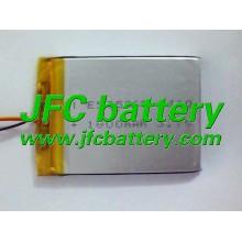 JFC505068 3.7v 1800 li-ion polymer battery with Connector ( NTC )
