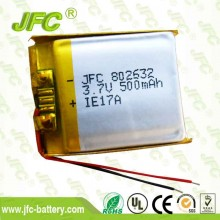 Soft Packed Battery JFC 802632 Lipo Battery 3.7V 700mAh