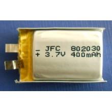 JFC 802030 202030 302030 402030 502030 602030 702030 902030Polymer battery