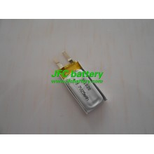 JFC 251020 3.7V ultra thin lithium polymer battery for wireless sensors, bluetooth