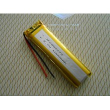 Rechargeable lithium polymer battery size JFC802272 3.7v 1000mah lipo battery