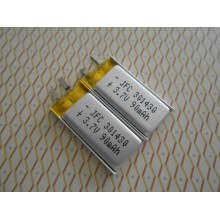 Shenzhen Factory Battery JFC301430 90mAh 3.7v with High Capacity Rechargeable Battery for GPS Device