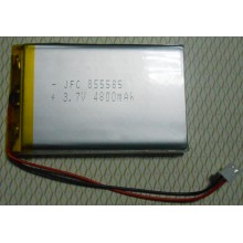 JFC855585 3.7V 4800MAH Li ion polymer battery wholesale
