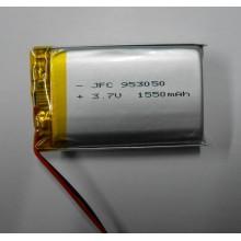 IEC 62133 approved li-ion battery 3.7v 2500mah li ion battery pack JFC953050